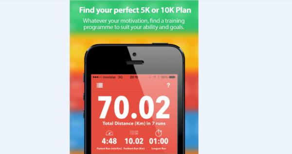 5K-10K Training – App iOS